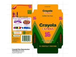 Crayola Box Reproduction Final by wastingtape