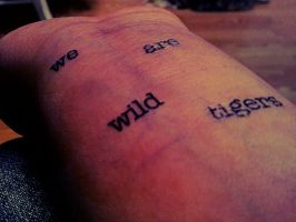 We Are Wild Tigers by XoAngieXo