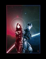 Ben Skywalker, and Vestara Khai by adamqd