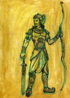 Arjuna Design by Narasura-of-Kashi