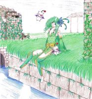 Rydia by oOCouliOo