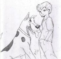 Shaggy and Scooby by MWRoach