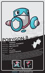 Porygon Beta 'Defence forme' by Concore