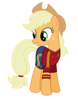 EM-Pony: Spain - Applejack by Isegrim87