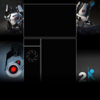 Portal 2 YT Background by XM94