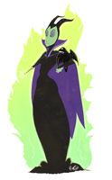 Maleficent by miggea