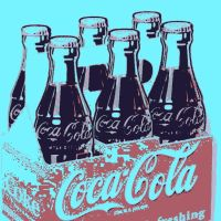 Coca-Cola 6 pack pop art by DevintheCool