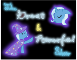 The Great and Powerful Show Cover Art by red-pear