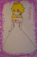 Wedding Dress: Peach by FinLin