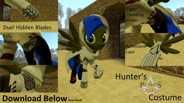 Hunter's Assassin Outfit [DL] by headhunter100060