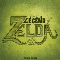 Legend of Zelda Hand Lettering by drakeybaby
