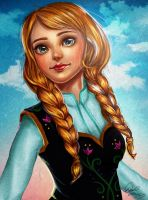 Frozen: Anna by Endeavoura