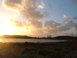 Sunset on Rottnest Island by Charmed-Ravenclaw