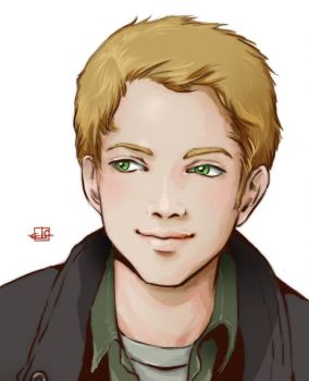 Anime Portraits - Dean Winchester by Sirilu