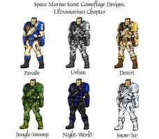 Space Marine Scout DCPU by cyphercodicer2