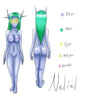 Neliel referance sheet by Viracon