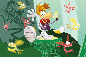 Rayman Origins by hedgehog3000