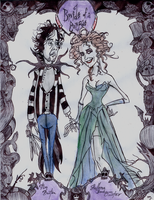 The  Bride  of  a  Corpse by DemonCartoonist