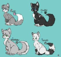 WhiteNight Kit's by TimidCute
