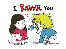 Faberry I RAWR You by patronustrip