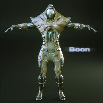 Boon - Warframe Concept by DarksealStudios