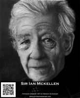 Sir Ian Mckellen by HyperionDreams