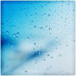 Water Drops on the window by waiaung