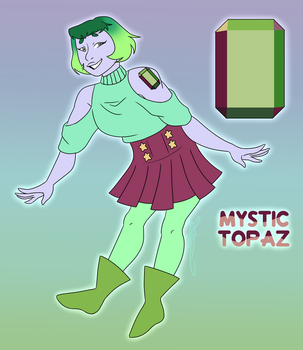 Mystic Topaz Reference by PineappleSan