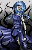 Transforming into Nightmare Moon by Tao-mell