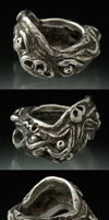 monster ring by porkcow