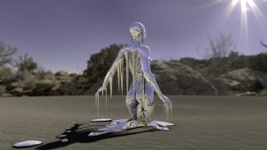 Melting Woman by capsat