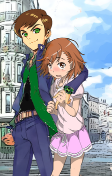 A Certain Scientific Omnitrix: Secret Date. by MisakaLovesYou
