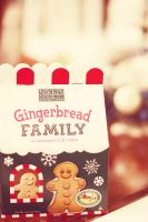 Gingerbread Family by serafleur
