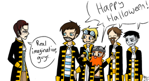 Yogscast Halloween thingy by Elyfar