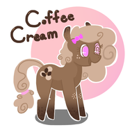 Coffee Cream! OC by JellyBeanBullet