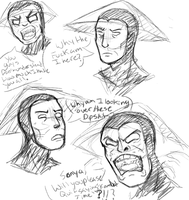 Raiden Doodles by JohannStrauss