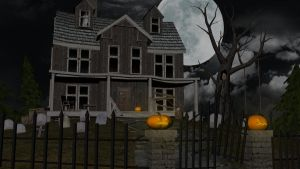 3d Haunted House by Spartichi