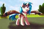 Vinyl Scratch wants to be a wonderbolt - ATG by Tadashi--kun