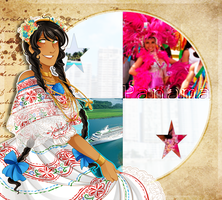 .:APH:. Panama Independence Day by kamillyanna