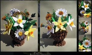 Flower Basket by Podmarkova