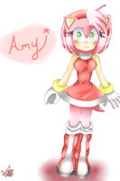 Amy Rose by LiaMenietowLove