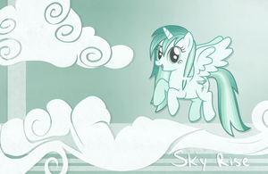 Sky Rise Background by CaptiveLegacy