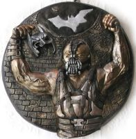 BANE, The Dark Knight Rises,Wall plaque sculpture. by Mixta110