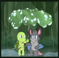 Clover Umbrella by Libearty