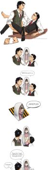 SebastianxJoseph fun times [The Evil Within] by DontTrust