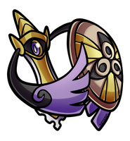 Day 17 - Aegislash by PrinceofSpirits
