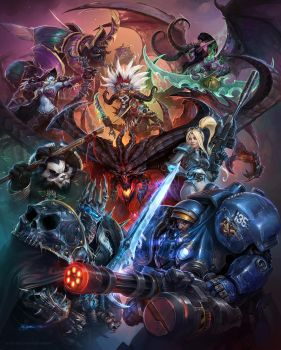 Heroes of the Storm by Mr--Jack