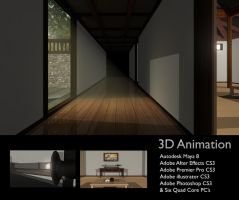 Japanese 3D Interior Animation by dotau
