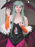 Striking Closeup of Morrigan by smithers456