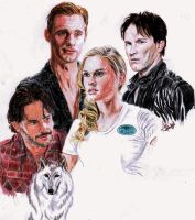 True Blood WIP by RoxyLexi